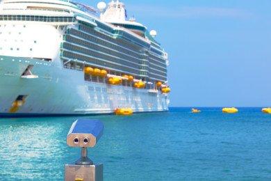 MeinSchiff Karibik Kreuzfahrt Fernglass