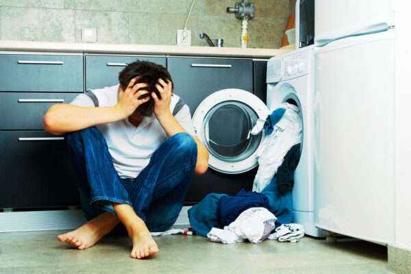 Reisewäsche Waschmaschine