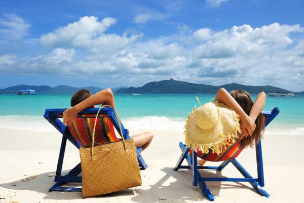 Strandurlaub zu zweit