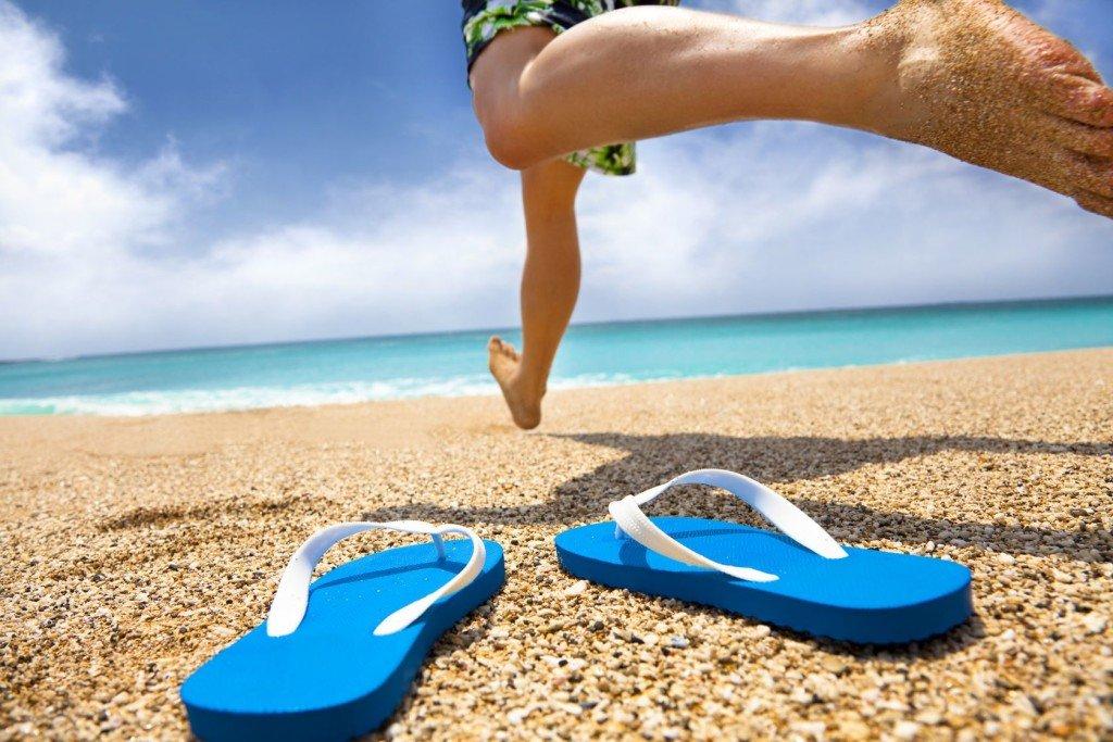 Flip Flops Strand Reisegutschein