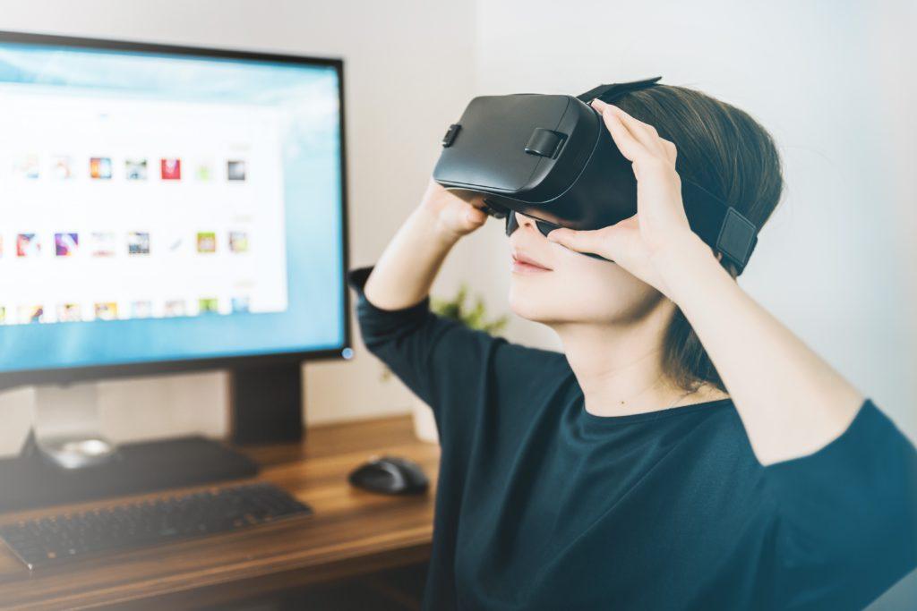 Virtual Reality Brille