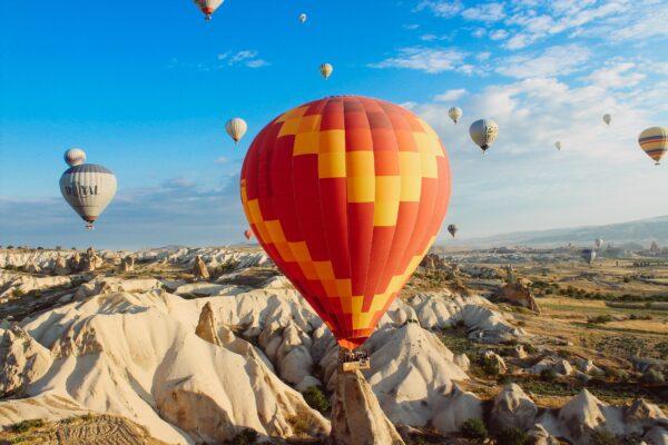 Leistungen Heißluftballon