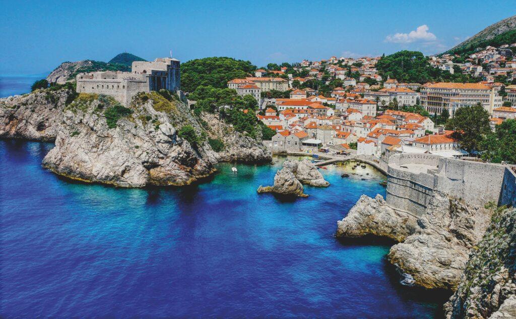 Dubrovnik in der Adria