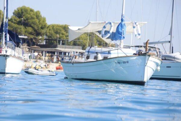 Boote auf Formentera