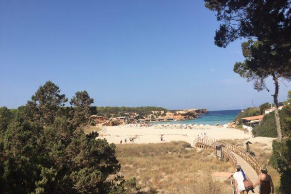 Bucht Formentera